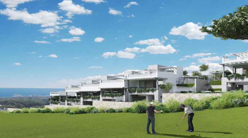 Townhouses Located within the Cabopino Golf Course