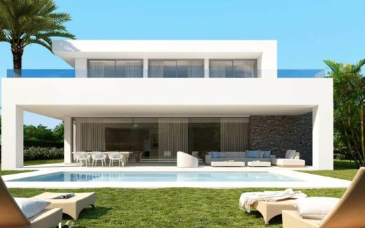 Development of Modern Villas in Marbella