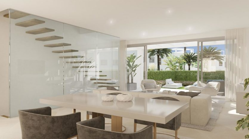 Contemporary townhouses in the heart of Calahonda, Mijas Costa