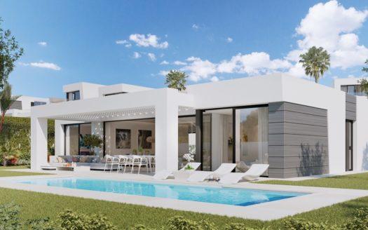 Stunning modern villas on the Marbella-Mijas border