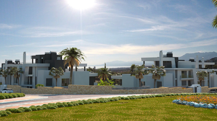 Modern Apartments & Penthouses Under Construction in Cabopino, Marbella