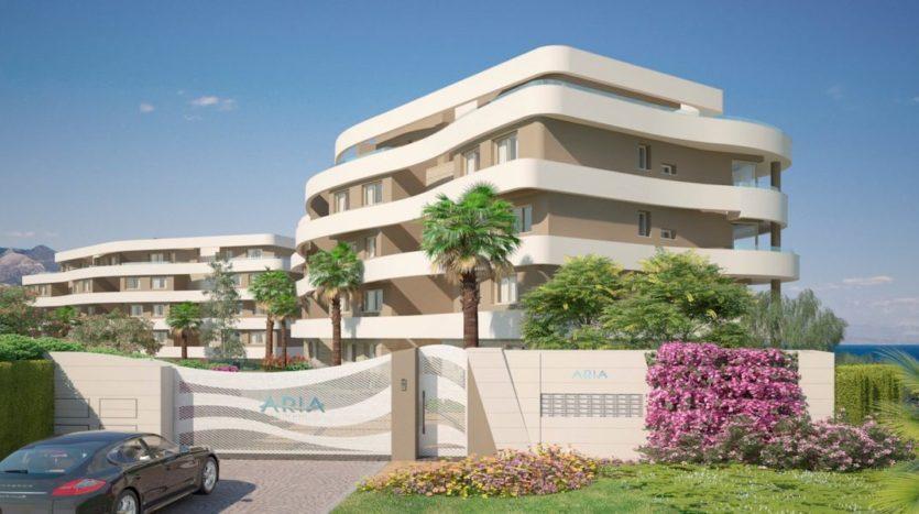Mediterranean Sea View Apartments For Sale Mijas Costa