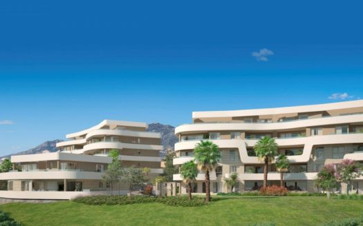 Mediterranean Sea View Apartments For Sale Mijas Costa